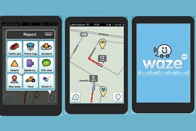 Waze Hadirkan Fitur Navigasi Pengendara Sepeda Motor