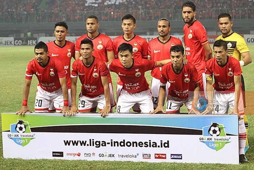 Tim Persija Jakarta pada Liga 1 2017.