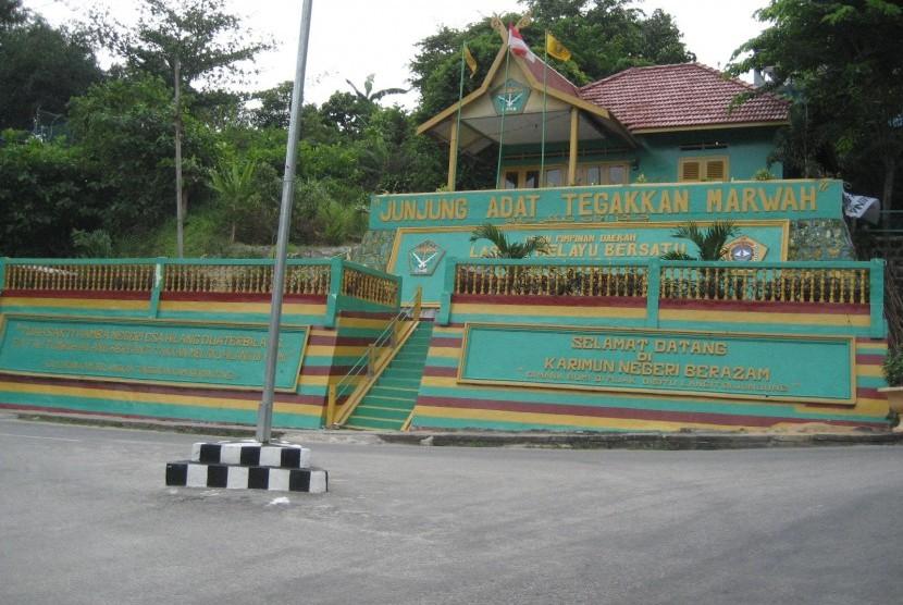 Wisata di Karimun, Kepulauan Riau.