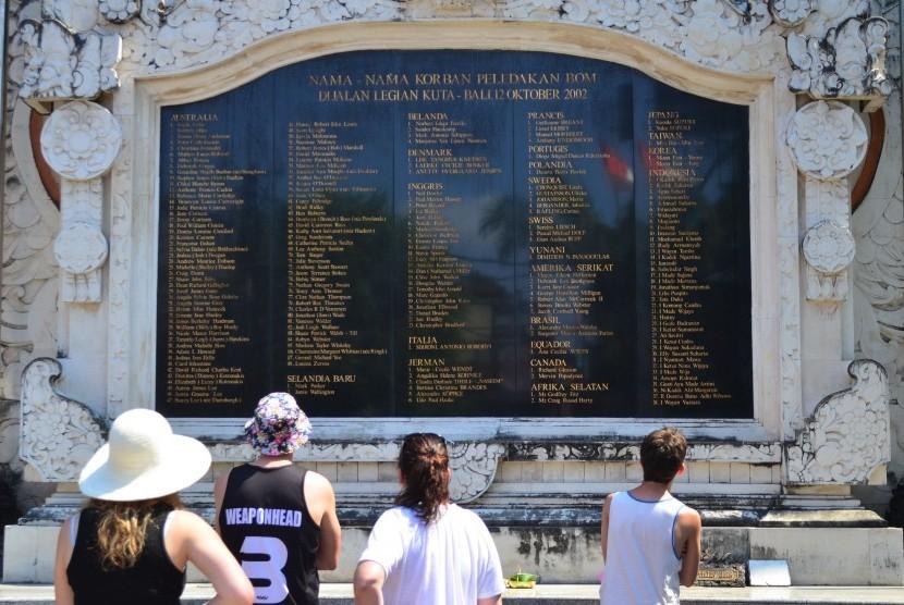 Monument of Bali bombings, Legian, Kuta, Bali.