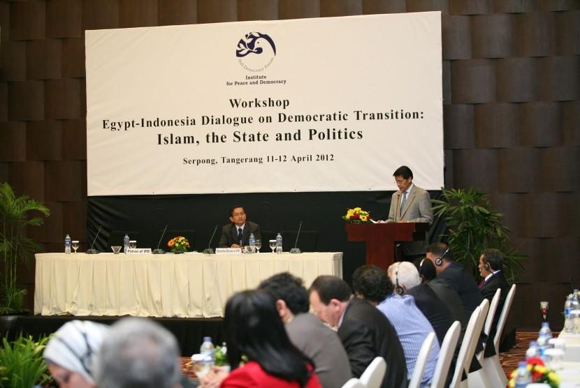 Workshop Dialog Mesir-Indonesia
