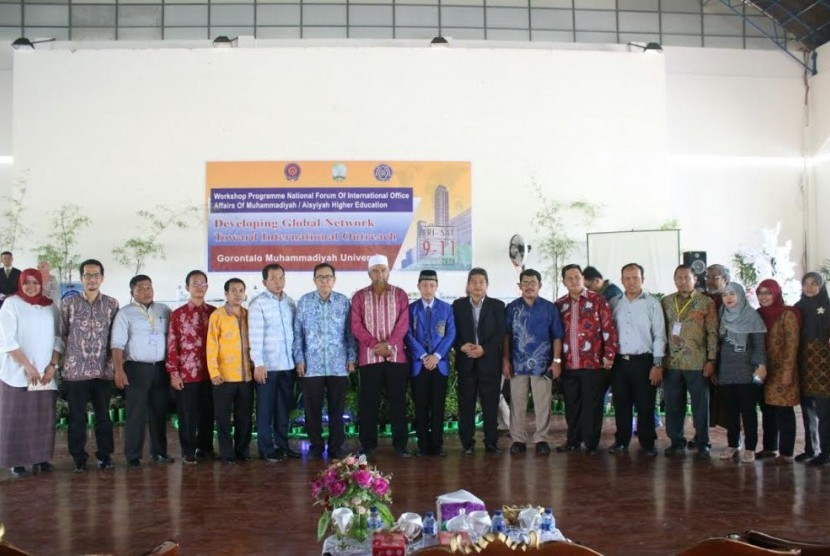 Workshop KUI PTM dan PTA se-Indonesia di Universitas Muhammadiyah Gorontalo (UMG).