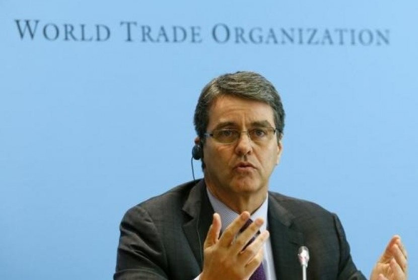 Direktur Jenderal World Trade Organization (WTO) Roberto Azevedo (file photo)