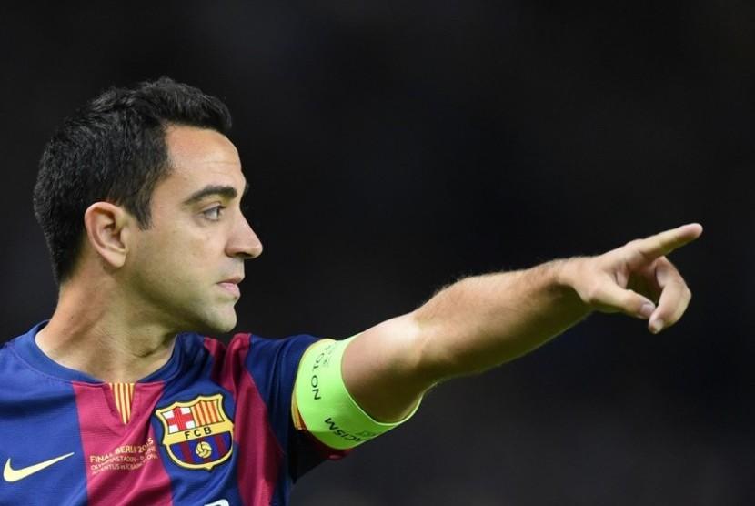 Xavi: Saya Rindu Barcelona