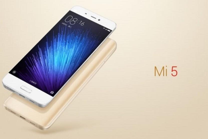 Xiaomi Mi5. Ilustrasi