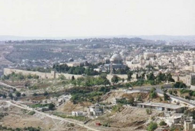 Peringati Pencaplokan Yerusalem Timur, Israel Gelar Pawai Naksa