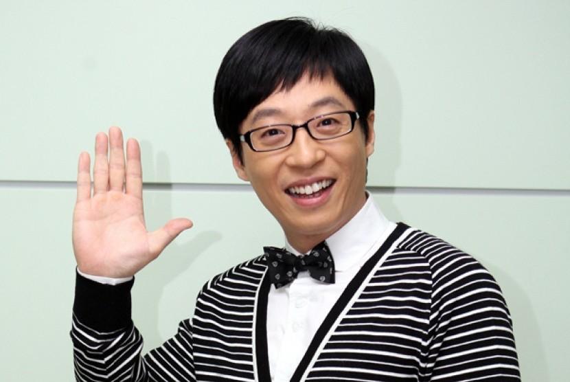 Yoo Jae Suk Kembali Terpilih Sebagai Komedian Terbaik