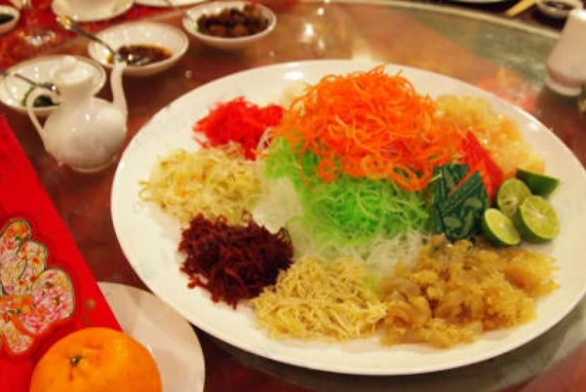 ... khas salah satu menu utama dalam perayaan Imlek atau tahun baru Cina