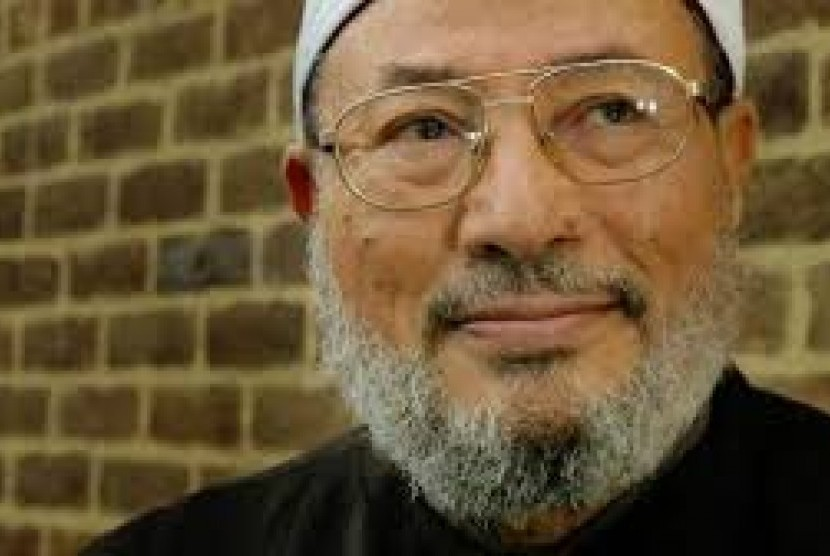 Mesir Hukum Ulama Yusuf al-Qaradawi Penjara Seumur Hidup