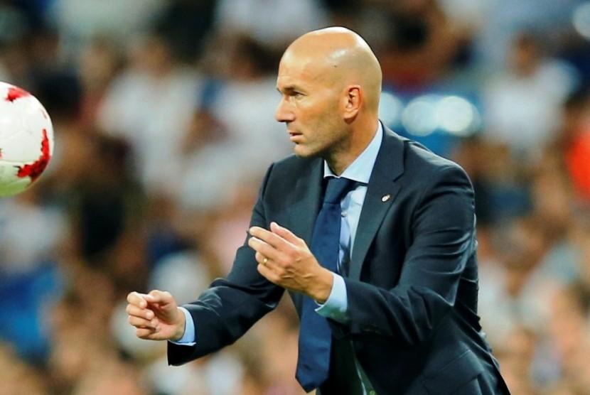 Madrid Ditahan Imbang, Zidane Ambisi Tekuk Spurs di Wembley
