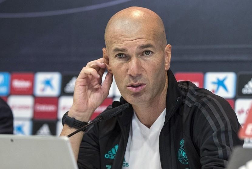 Derby Madrid Berakhir 0-0, Ini Tanggapan Zidane