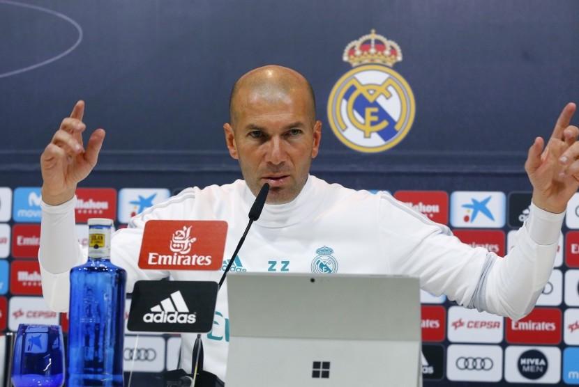 Usai Kalahkan Leganes, Zidane Ingin Madrid Menang Beruntun