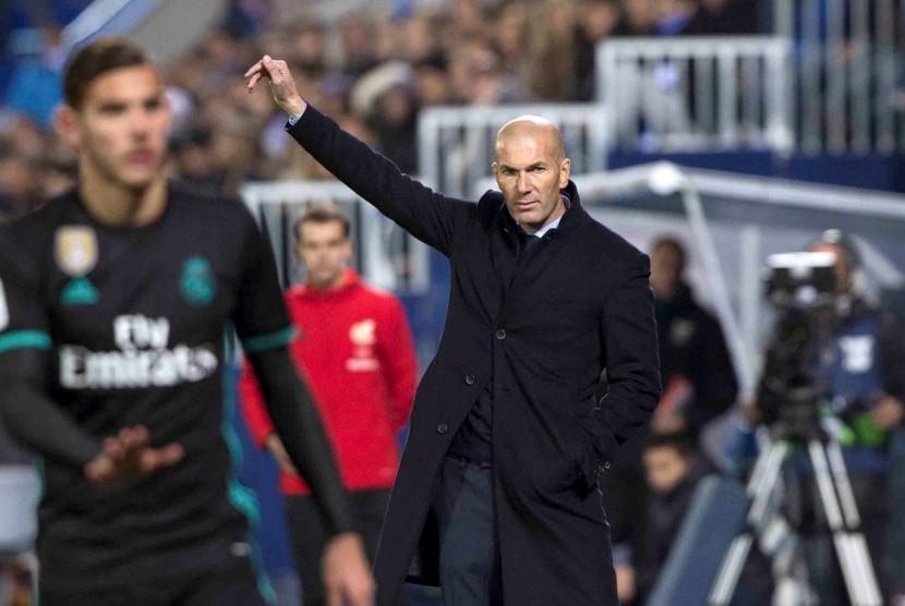 Zidane Bahagia Madrid Akhirnya Cicipi Kemenangan