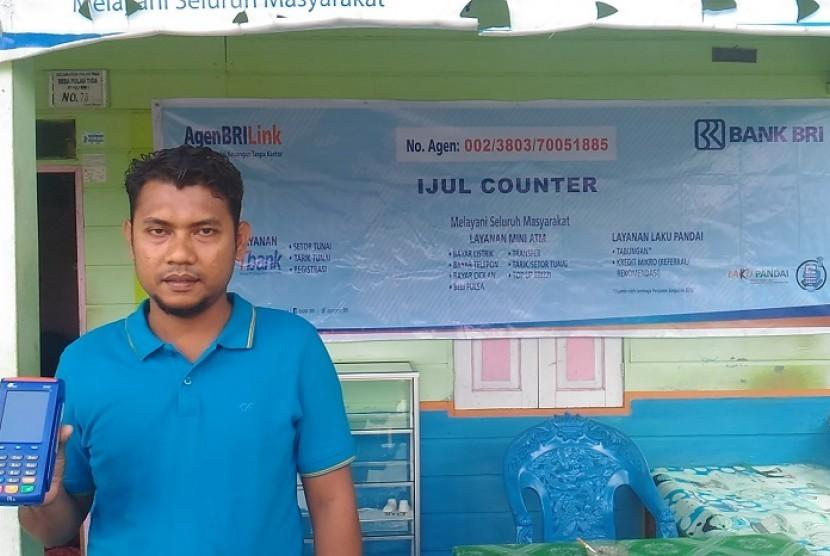 Cerita Agen BRILink di Wilayah Perbatasan Indonesia  Republika Online