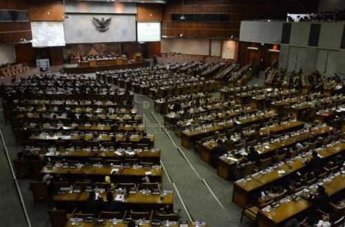 President Joko Widodo still awaits parliament's response to his plan on new cabinet. (Illustration)