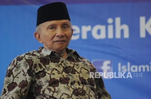 Amien: Jokowi Paham Demokrasi, yang Lucu Peminta-minta Kursi