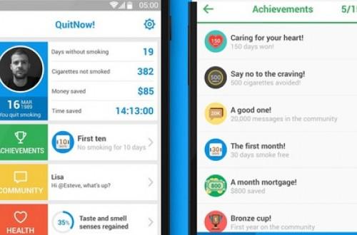 Aplikasi samrtphone ini bantu Anda menghentikan kebiasaan buruk merokok.