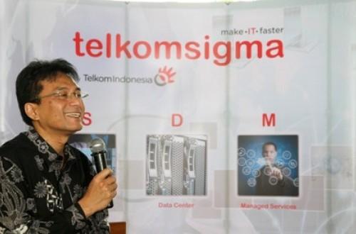Presiden Direktur TelkomSigma Judi Achmadi