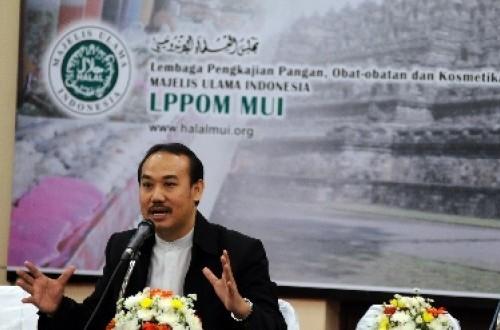 Direktur LPPOM MUI Lukmanul Hakim.