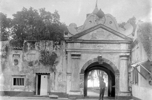 Fort Oranje in Ternate during colonialism era (file photo)
