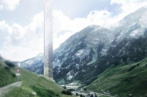 gedung tertinggi di Eropa akan dibangun di sebuah desa kecil di Swiss