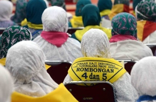 Jamaah calon haji Indonesia.
