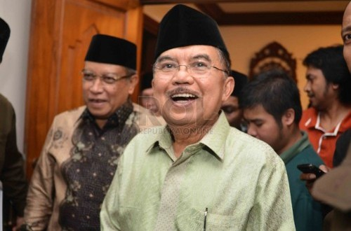 A senior figure of Golkar Party, Jusuf Kalla