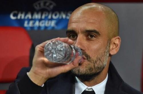 Pelatih Pep Guardiola.
