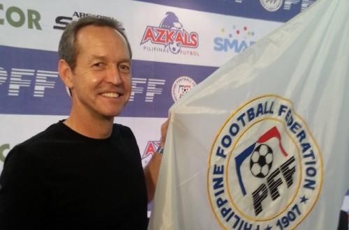 Pelatih timnas Filipina, Thomas Dooley.