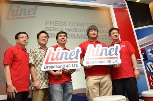Peluncuran Hinet di Jakarta
