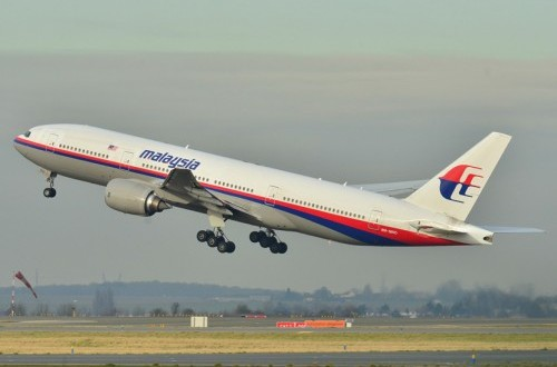 Airplane Boeing 777-200ER belongs to Malaysia Airlines. (Illustration)