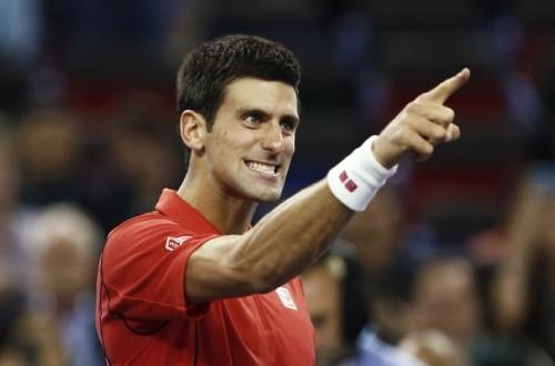 Petenis Novak Djokovic.