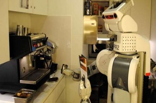 PR2, robot barista yang bisa membuat kopi