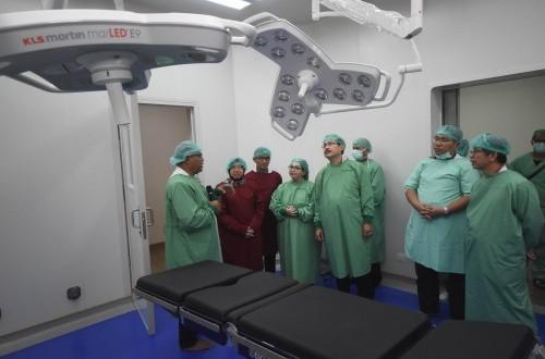 Renovasi Rampung, RSUD dr Soewandhi Kini Punya 10 Ruang Operasi