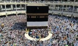 Jamaah haji dari berbagai negara memadati areal tawaf Masjidil Haram di Makkah, Arab Saudi (foto ilustrasi).