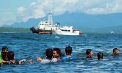 Korban kapal tenggelam terapung (ilustrasi)