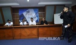 Republika menggelar kegiatan sehari berkantor di PT Bank Pembangunan Daerah Jawa Barat dan Banten atau Bank BJB di Jalan Naripan No.12, Kota Bandung, Sabtu (20/5).