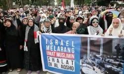 Aksi solidaritas Al Aqsa di Bandung, Jawa Barat