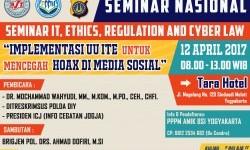 AMIK BSI Yogyakarta siap menggelar kembali seminar IT, Ethics, Regulation, and Cyber Law.