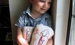 anak dengan autis. ilustrasi