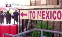 Arah perbatasan Amerika menuju Meksiko