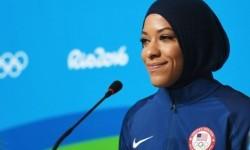 Atlet anggar Amerika Serikat di Olimpiade Rio 2016, Ibtihaj Muhammad