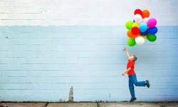 Balon berisi gas helium