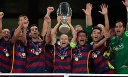 Barcelona Juara Piala Super Eropa