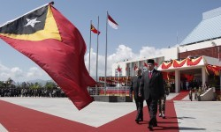 Bendera Timor Leste.