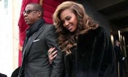 Beyonce bersama suaminya Jay-Z