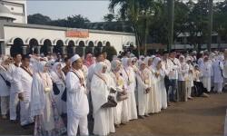 Calon jamaah haji. (ilustrasi).