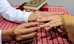 Cincin perkawinan.  (ilustrasi)
