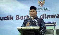 Direktur Koordinasi Pengumpulan, Komunikasi dan Informasi Zakat Nasional Arifin Purwakananta