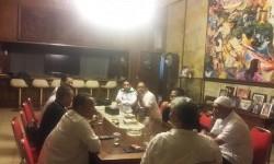 DPW Partai Persatuan Pembangunan (PPP) DKI kubu Lulung Abraham Lunggana konsolidasi dengan relawan Anies-Sandi.